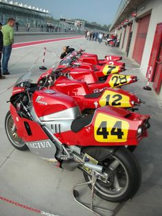 Cagiva The full range