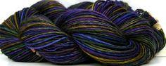 Something different than the art yarns - HandSpun Bamboo Yarn Dragon King by Kitty Grrlz Hand Spun Yarn, $ 28.00