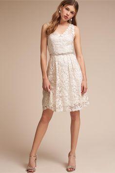 BHLDN Collins Dress in  Sale Little White Dresses | BHLDN