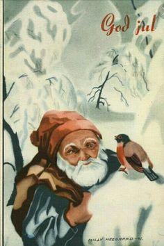 Julekort Milly Heegaard 1941