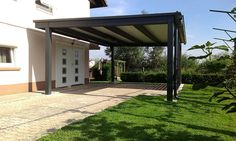 canopy Car Canopy, Pergola, Outdoor Structures, Street, Outdoor Pergola, Walkway