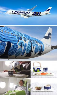 marimekko for finnair LOVE the livery! Marimekko, Helsinki, Identity Design, Visual Identity, Lappland, Brand Packaging, Scandinavian Design, Textile Design, Surface Design