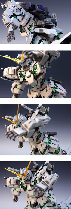 Custom Build: PG 1/60 RX-0 Unicorn Gundam Awakening Ver. - Gundam Kits Collection News and Reviews