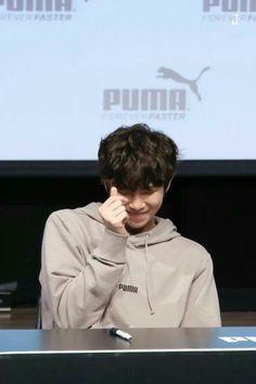 Puma fansign #RM #Cutenessoverload