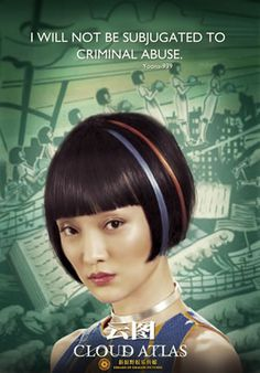 Cloud Atlas - Loved this movie. A little strange but worth the watch for the overall message of the film.