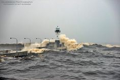 The waves that nearly swallowed the entire North Pier. This was absolutely incredible to see. The force of Lake Superior is nothing shy of amazing. Big Lake, Ponds Backyard, Lake Superior, Twin Cities, Niagara Falls, Minnesota, Waves, The Incredibles, City