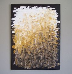 Original Abstract Palette Knife Acrylic Painting on by LenDickson, $110.00
