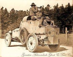 1915 Davidson Cadillac Armored Car