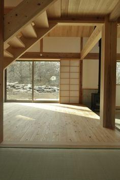 中吉の家   施工事例   八ヶ岳・長野・山梨・群馬・関東で自然素材の注文住宅なら工務店「アトリエデフ」