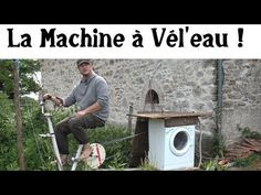 La Machine à Laver Vélo ! How to make a bike-powered washing machine. In French but the video shows every technical detail clearly. Also a recipe for detergent made of common ivy!