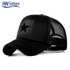 c73aa481596 Baseball Cap For Women Men Mesh Cap Snapback Hat Bone Adjustable Baseball  Cap