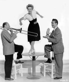 Eleanor Powell and friends