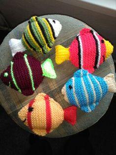 pletené rybičky