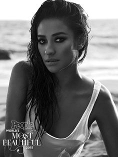 2015's World's Most Beautiful List | SHAY MITCHELL | The actress, who plays Emily on the breakout ABC Family series Pretty Little Liars, was born in Canada to a Filipino mother and Irish/Scottish father. Mitchell modeled around the world before launching her acting career, and we can see why – the girl exudes carefree beauty. (Though we're glad she chose acting. PLL would not be the same without her.)