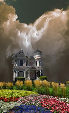 Surround Cloud ~ Victorian Painted Lady