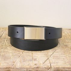 Belt No. 6 leather belt. From the Broundal collection of handmade leather goods designed and produced in Denmark.
