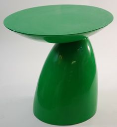 Oval End Side Table