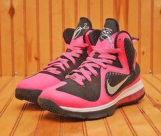 detailed look b23ca f127d Nike Lebron Soldier IX 9 PRM Size 8.5 - White Black Oreo - 749490 110    Nike lebron, Athletic and Black