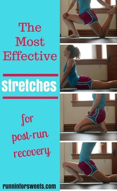 The Most Effective Stretches for Runners   Post-Run Recovery   Stretches for Flexibility
