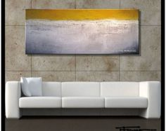 Modern, Abstract, Canvas Painting, Wall Art, STRATEGY Available in 2 sizes, 60 inch Ready to Hang.....ELOISExxx