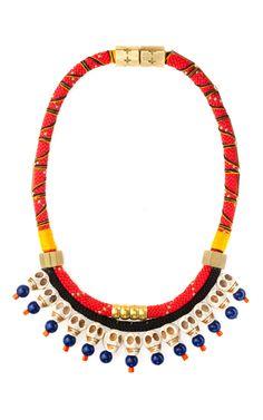Dead Man's Bones Necklace by Holst + Lee for Preorder on Moda Operandi