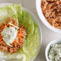 Slow Cooker Recipes at Punchfork  (Crock Pot Buffalo Chicken Lettuce Wraps pictured)    http://punchfork.com/recipes/slow-cooker