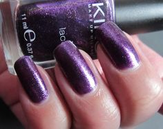 This one is also from the vault, because with the challenge and all that I just haven't had a chance to post it. This is Kiko number. Orchids, Challenge, Nail Polish, Number, Nails, Beauty, Finger Nails, Ongles, Nail Polishes