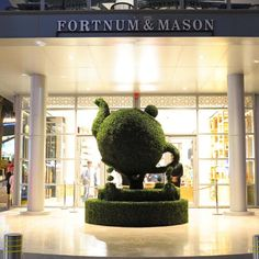 """FORTNUM & MASON,Dubai, United Arab Emirates, """"If it was easy....everyone would do it"""", pinned by Ton van der Veer"""