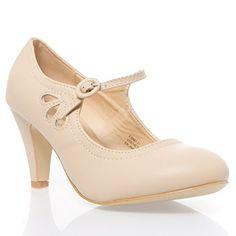 V-Luxury Womens 36-KIMMY21 Closed toe High Heel Mary Jane Pumps Shoes, Nude PU Leather, 7 B (M) US V-Luxury http://www.amazon.com/dp/B00T41VUZ0/ref=cm_sw_r_pi_dp_ntu8ub0GG21RW