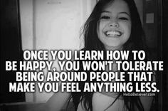 learning to be happy