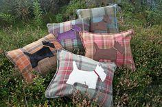 Scottie Dog Cushions