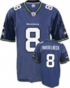 2dc7e92cc  8 Matt Hasselbeck Navy Blue Seattle Seahawks NFL Jersey World Cup Jerseys