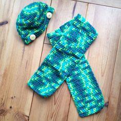 Muts en sjaal voor peuter #DIY #haken #MyBoshi