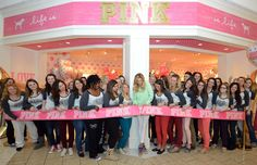 c7746ab4a51d Exclusive Kat: Model Jessica Hart Celebrated The Opening of The New  Victoria's Secret PINK Store
