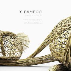 X-Bamboo design project: UCL, Bartlett AD, Wonderlab Architecture Portfolio, Architecture Design, Bartlett School Of Architecture, Architectural Materials, Bamboo Design, Design Projects, Contemporary, Fabric, Ornament