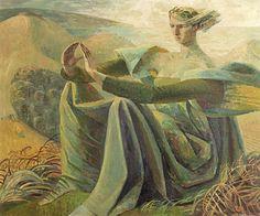 """"""" Dorset, 1947-48 – Evelyn Dunbar (1906–1960)"""