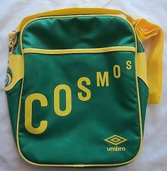 New york  cosmos green  retro  messenger bag by umbro brand new with tags b239e5547f8ed