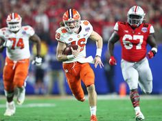 Trevor Lawrence answers adversity, powers Clemson over Ohio State - Sports Illustrated Things finally got hard for Trevor Lawrence in the Fiesta Bowl, and Clemson's QB rose to the occasion.