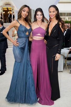 Jourdan Dunn, Kendall Jenner and Joan Smalls.
