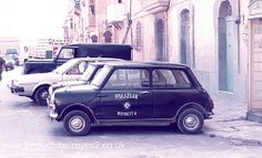 Mini Police car MALTA 1970s