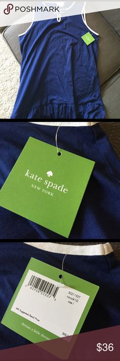 Kate spade NWT night shirt/ nightie / night dress New with tags, size large sleep dress. kate spade Intimates & Sleepwear Pajamas