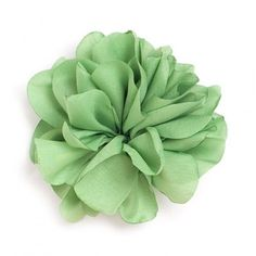 Flor de tela Aguacate.
