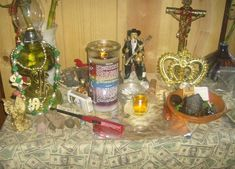 Conjure Altar | san simon also known as maximon mah shee moan also called brother some ...