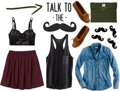 """""""talk to the"""" by mangosarah on Polyvore"""