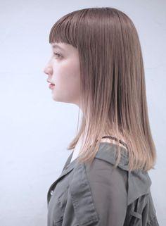 ミルクティーストレート【OREO.】 https://www.beauty-navi.com/style/detail/59781?pint ≪#semilong #shoulderlengthhair #hairstyle #セミロング #セミディ #ヘアスタイル #髪型 #髪形 ≫
