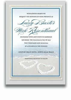 150 Rectangular Wedding Invitations - Never Blue Hearts by WeddingPaperMasters.com. $393.00. Now you can have it all! We have created, at incredible prices & outstanding quality, more than 300 gorgeous collections consisting of over 6000 beautiful pieces that are perfectly coordinated together to capture your vision without compromise. No more mixing and matching or having to compromise your look. We can provide you with one piece or an entire collection in a one stop shopping e...
