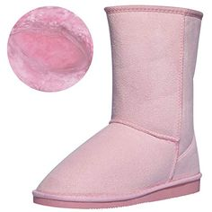 """CINAK women's shoes, adhere to the """"enjoy comfortable life"""" concept , to create a variety of stylish elements comfortable shoes. Snow boots feature hidden seams and a rounded head… Warm Boots, Rain And Snow Boots, Bearpaw Boots, Ugg Boots, Boots Gifts, Mid Calf Boots, Short Boots, Comfortable Shoes, Uggs"""