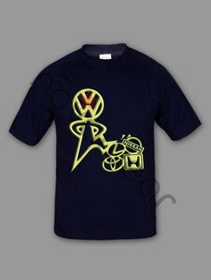 VW T-Shirt Price: 15.90 €  - VW T-shirt - 100% Cotton - Printed - Logo on front and back