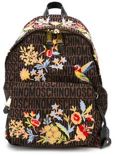 Moschino mongrammed backpack