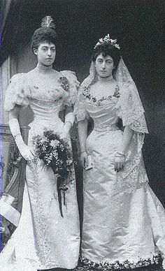 HRH Princess Maud of Wales and sister HRH Princess Victoria of Wales